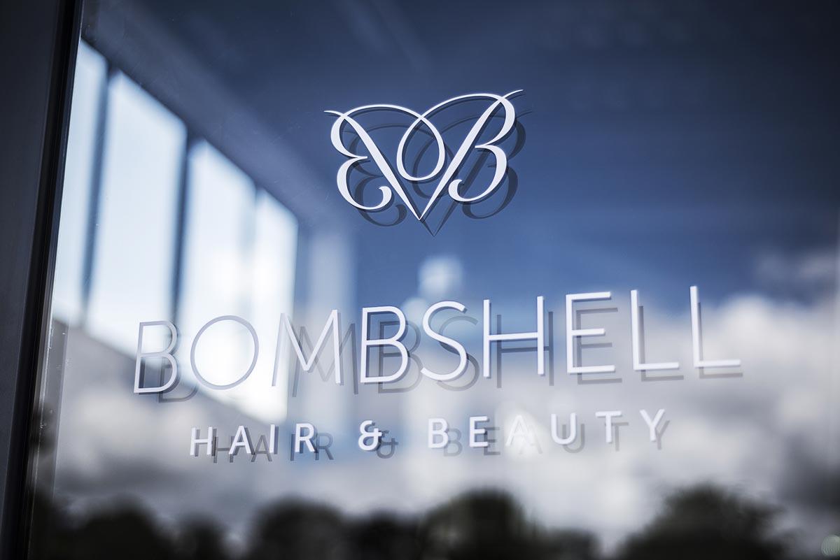 Bombshell Beauty signage